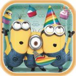 DESPICABLE ME 2 DINNER PLATES