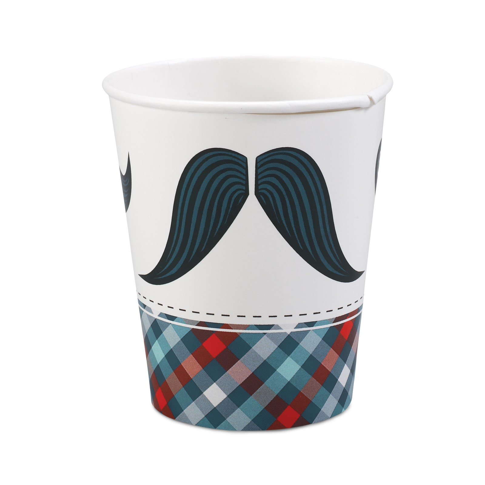 LITTLE MAN MUSTACHE CUPS