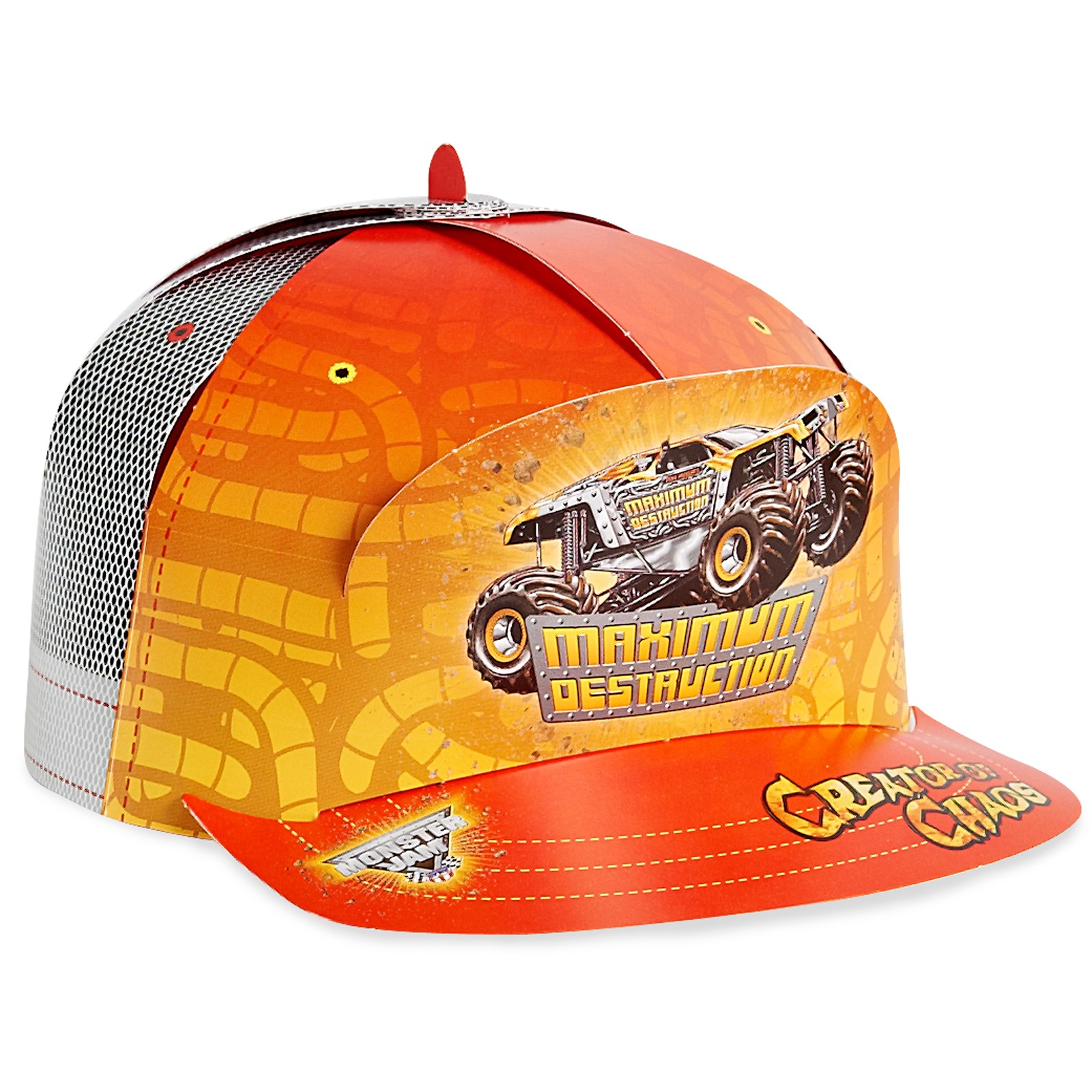Monster Jam Paper Hats