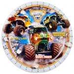Monster Jam Cake Icing Image