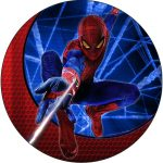 SPIDERMAN CAKE ICING IMAGE-1