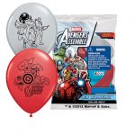 AVENGERS ASSEMBLE PRINTED LATEX BALLOONS