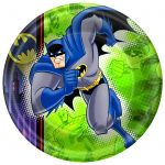 BATMAN BRAVE and BOLD DINNER PLATES