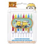 DESPICABLE ME 2 CAKE CANDLES