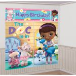 DOC McSTUFFINS WALL DECORATING KIT