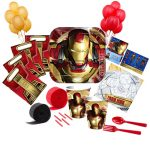 IRON MAN 3 Deluxe PARTY PACK
