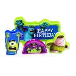 MONSTERS UNIVERSITY CAKE CANDLE SET
