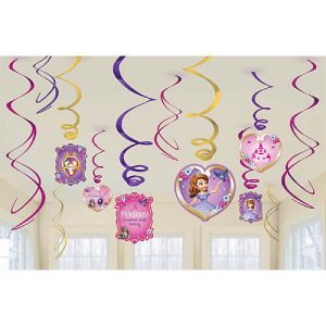 SOFIA THE FIRST SWITL HANGING DECORATION