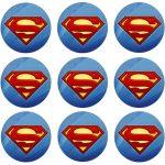 SUPERMAN CUPCAKE ICING IMAGE