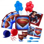 SUPERMAN Deluxe PARTY PACK