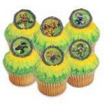 Skylanders Cupcake Rings