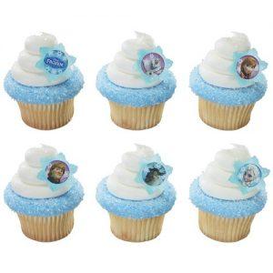 DISNEY FROZEN CUP CAKE RINGS