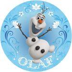 Disney Frozen Olaf Cake Image