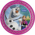 Disney Olaf Frozen Party Plates