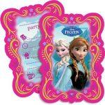 Disney's Frozen party invites with envelopes