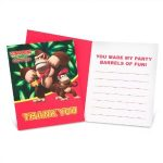Donkey Kong Thank You Note