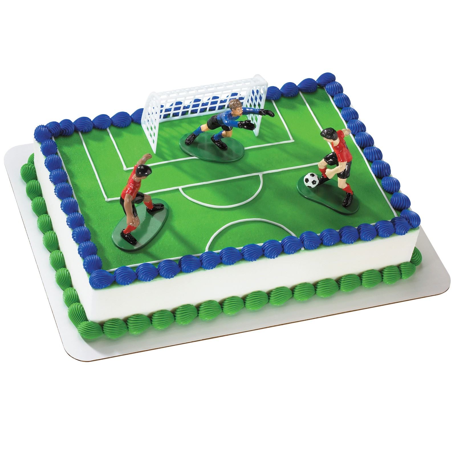 Girls Soccer Cake Toppers