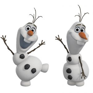 Disney Frozen Olaf the Snowman Peel and Stick Wall Decals