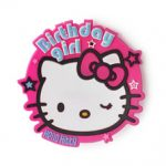 HELLO KITTY JUMBO BADGE