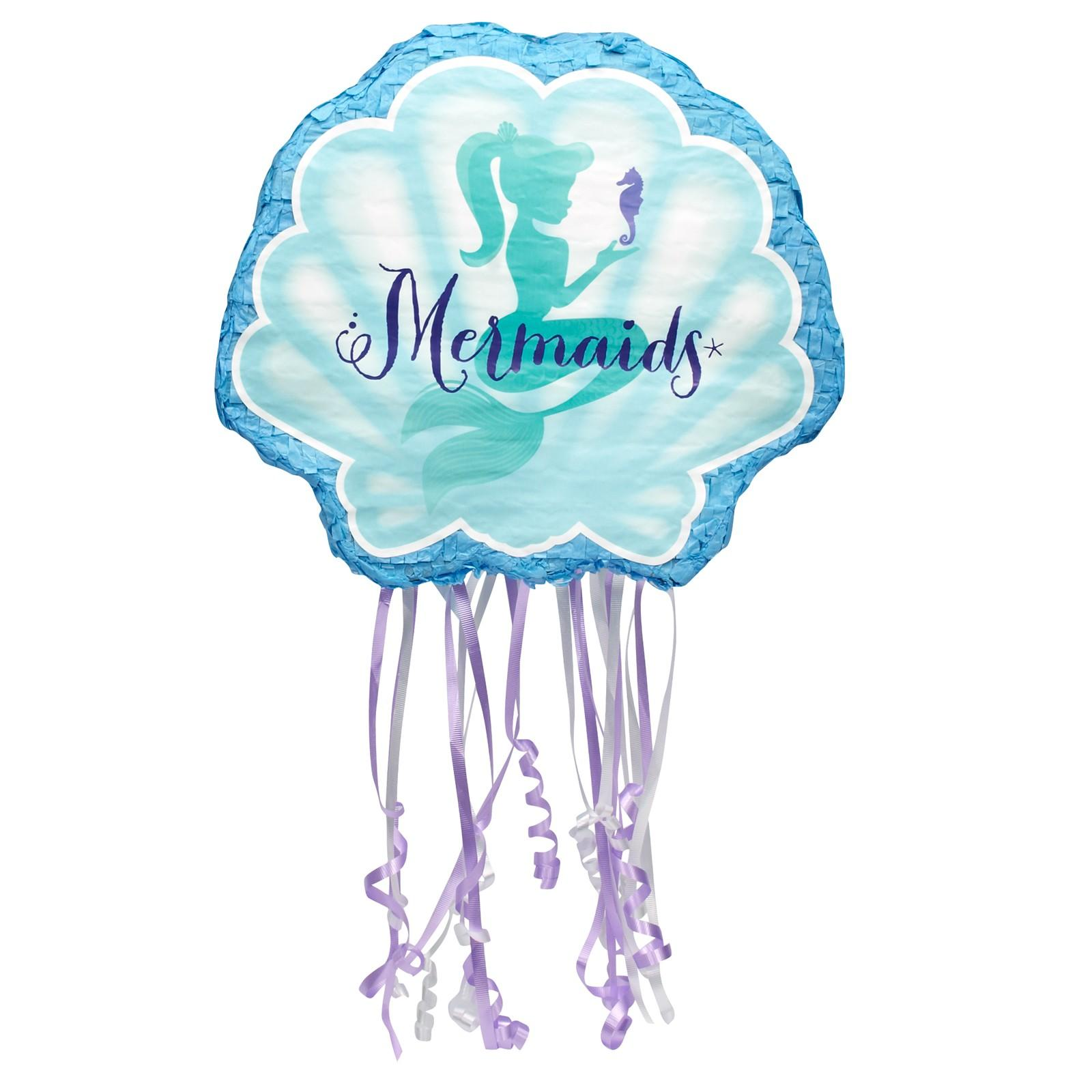 Mermaids Under The Sea Pull String Pinata This Party Started