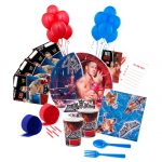 WWE WRESTLING Deluxe PARTY PACK