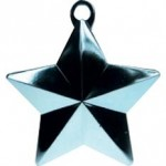 BABY BLUE GLITZ STAR BALLOON WEIGHT