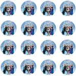 DISNEY FROZEN CHARATERS CUPCAKE IMAGE