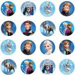 Disney Frozen Multi Cupcake Icing Images