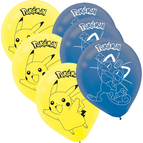 Pokemon & Friends LATEX BALLOONS