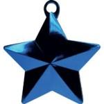 BLUE GLITZ STAR BALLOON WEIGHT
