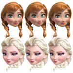 Disney Frozen Anna & Elsa Masks