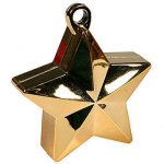 GOLD GLITZ STAR BALLOON WEIGHT