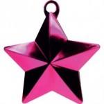 HOT PINK GLITZ STAR BALLOON WEIGHT