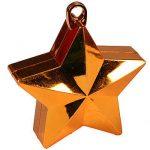 ORANGE GLITZ STAR BALLOON WEIGHT