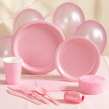 PASTEL PINK Party Supplies