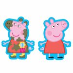 Peppa Pig 2 Sided SuperShape Foil Balloon