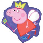 Peppa Pig Party Shape Foil Balloon