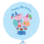 Peppa Pig happy birthday 18inch foil balloon