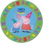 Peppa Pig Dinner Plates 23cm