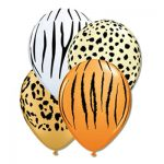 SAFARI JUNGLE LATEX BALLOONS