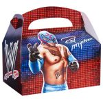 WWE Party Empty Favor Boxes
