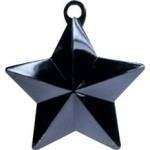 BLACK GLITZ STAR BALLOON WEIGHT