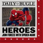 SPIDERMAN HERO DREAM PARTY BEVERAGE NAPKINS