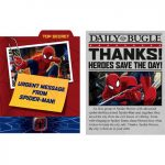 SPIDERMAN HERO DREAM PARTY INVITATION and THANKYOU
