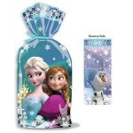 FROZEN CELLOPHANE TREAT GOODIE BAGS