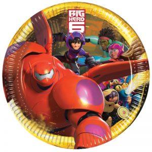 Big Hero 6 Dinner Plate