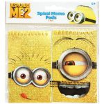 Despicable Me Foil Spiral Notepads (2)