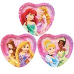 Disney Very Important Princess Dream Party Heart Shaped Dessert Plates