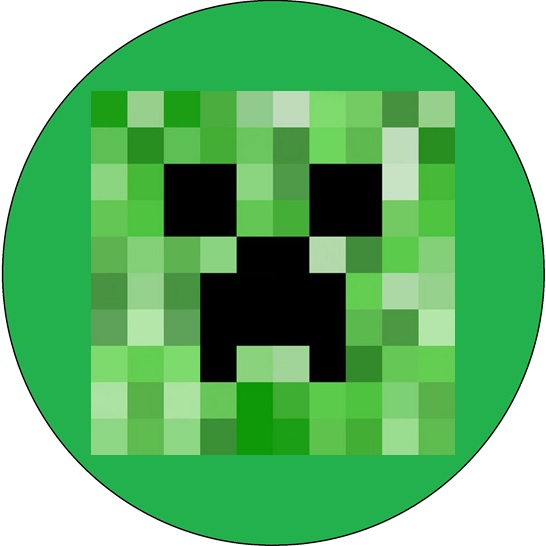 Minecraft Creeper Cake Image This Party Started