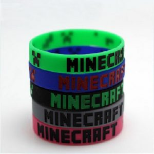 Minecraft Rubber Bracelet